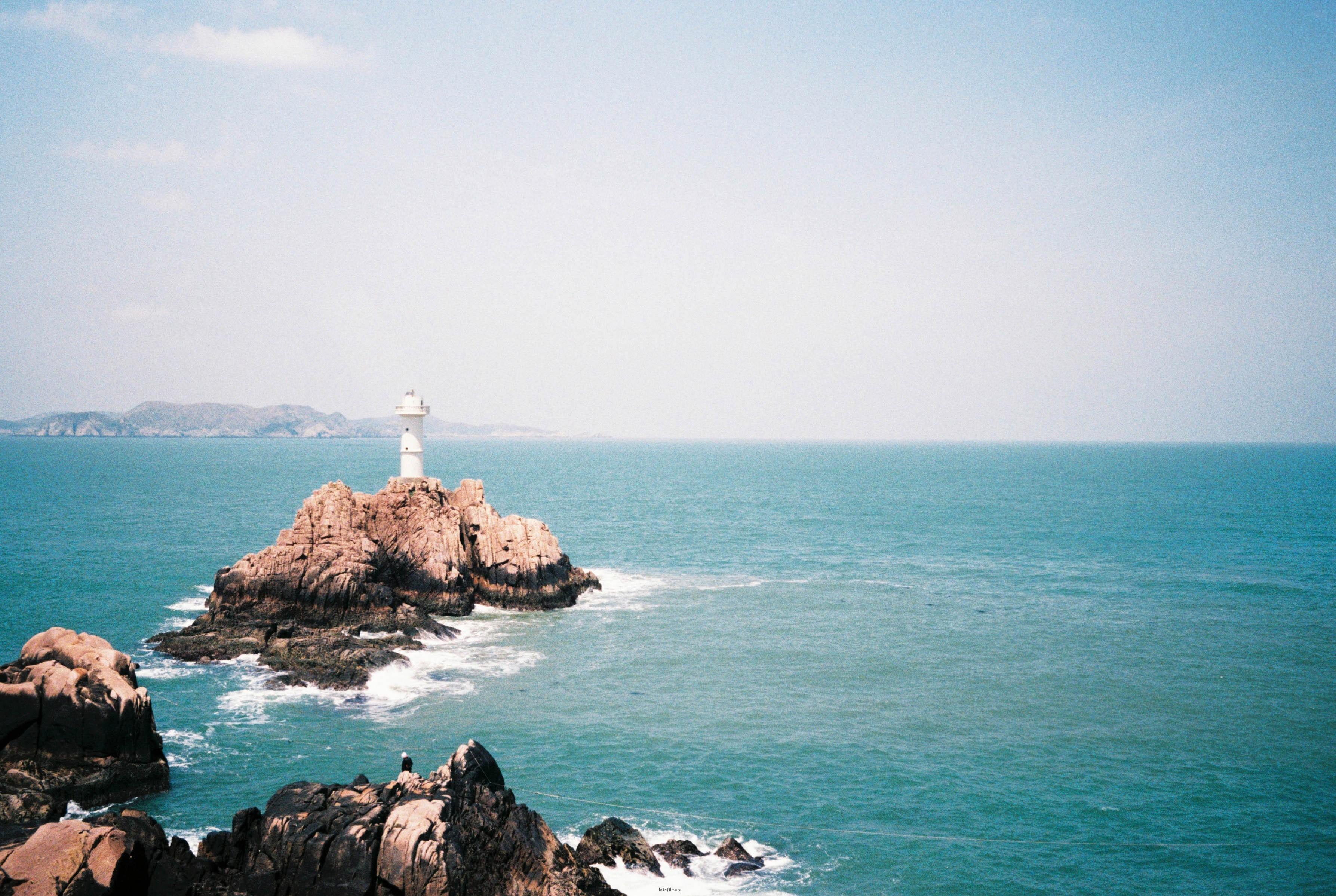 碧海蓝天东极岛